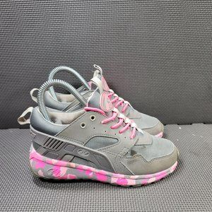 Youth Sz 3 Grey Heelys Rolling Sneakers